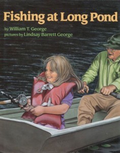 Fishing at Long Pond illustrated by Lindsay Barrett George