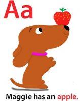 Maggie's ABC: letter A