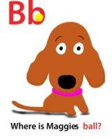 Maggie's ABC: letter B