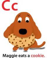 Maggie's ABC: letter C