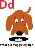 Maggie's ABC: letter D