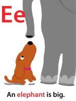 Maggie's ABC: letter E