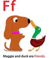 Maggie's ABC: letter F