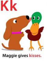 Maggie's ABC: letter K