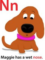 Maggie's ABC: letter N