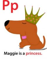Maggie's ABC: letter P