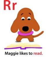 Maggie's ABC: letter R