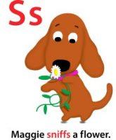 Maggie's ABC: letter S