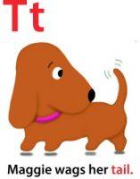 Maggie's ABC: letter T