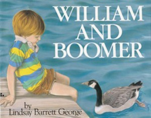 William and Boomer by Lindsay Barrett George